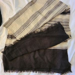 A Peace Treaty 26×78in. cashmere blanket scarf